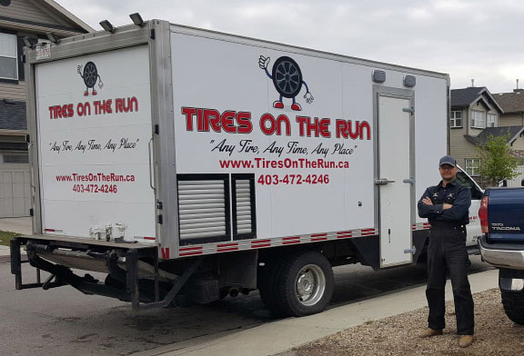 About Tires On The Run Airdrie Calgary Mobile Tires Wheels Shop
